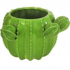 Кашпо керамическое Кактус, 12 см