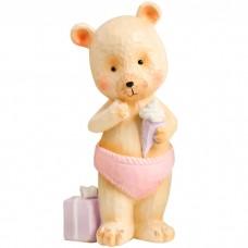Сувенир Медвежонок с мороженым, 13 ...