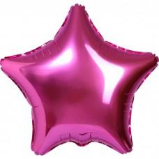 Шар фольгированный Звезда, розовый