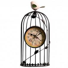 Часы Птичка в клетке, 35 см