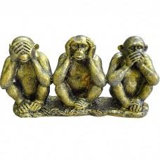 Фигура 3 шимпанзе на ветке, состаре...